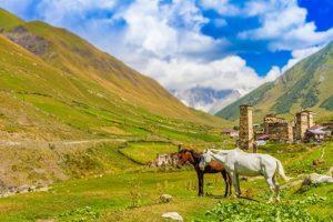 Uszguli-Swanetia-Gruzja-Kaukaz