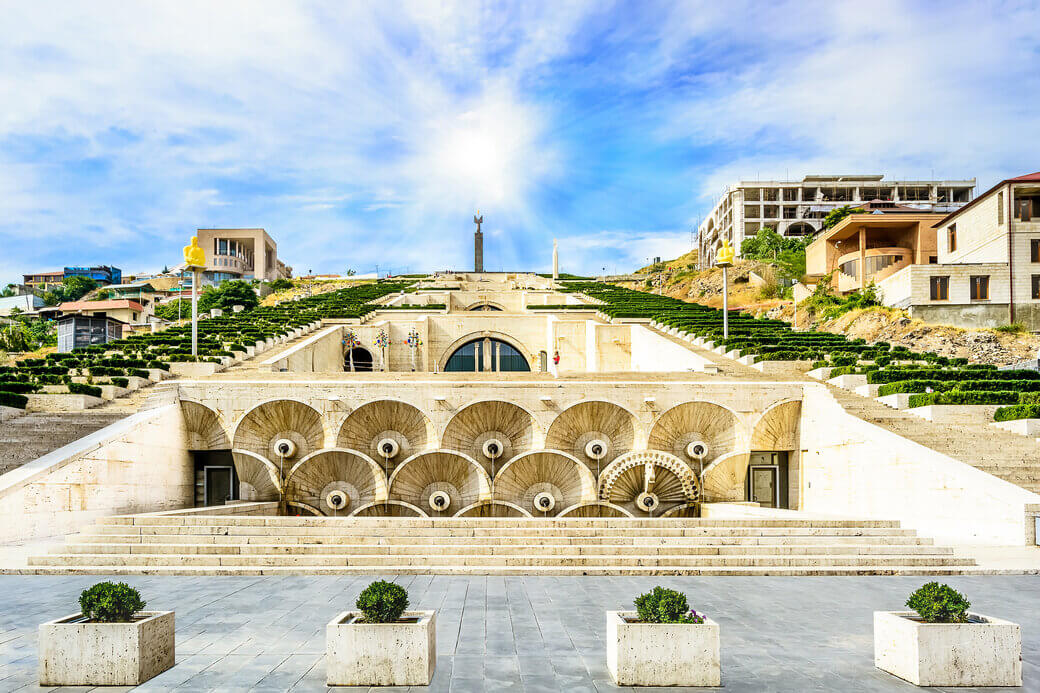 kaskady erywan armenia