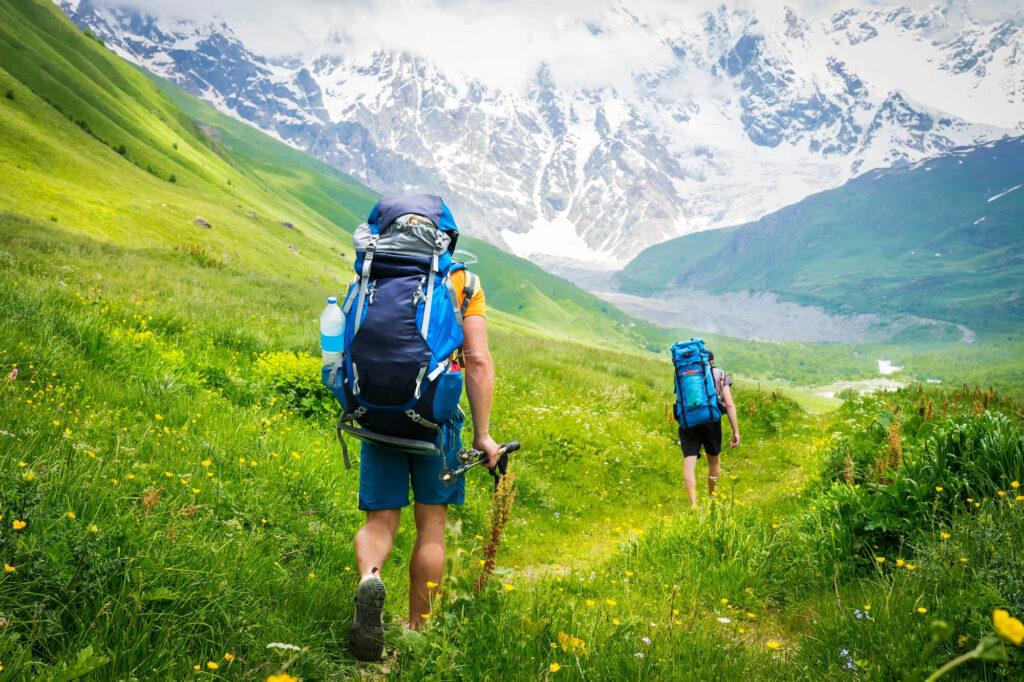 Trekking-Gruzja