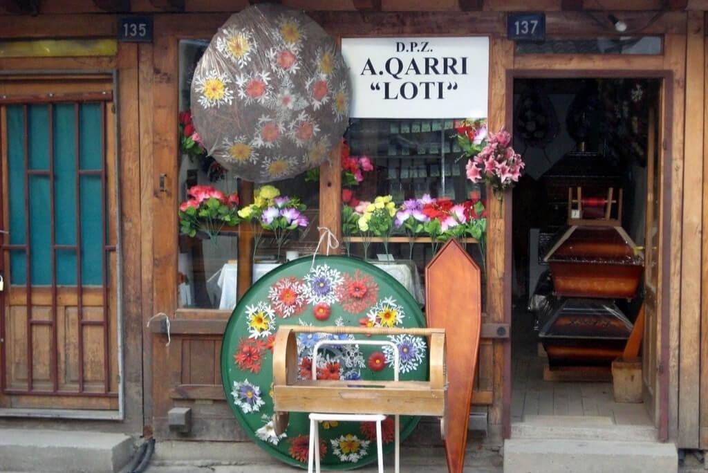 bazar w Gjalkova, Kosowo