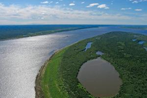 rzeka jenisej rosja
