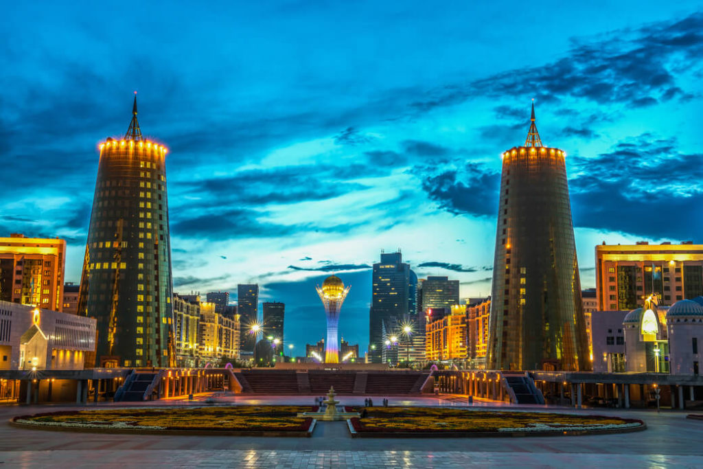 Astana-Nur-Sultan-Kazachstan