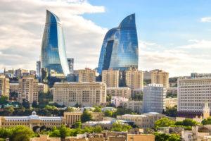 Baku-Ogniste-Wieze-Azerbejdzan