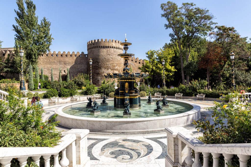 Baku-forteca-stare-miasto-Azerbejdzan