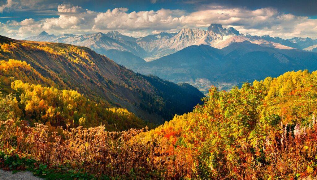 Gruzja-jesien