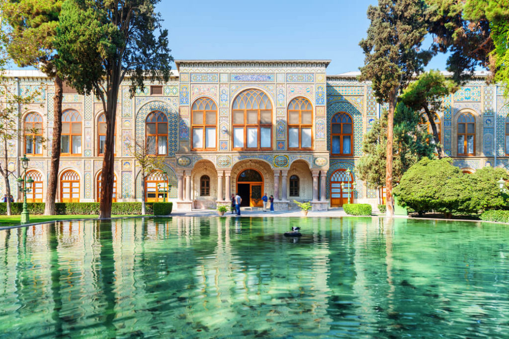 Palac-Golestan-Teheran