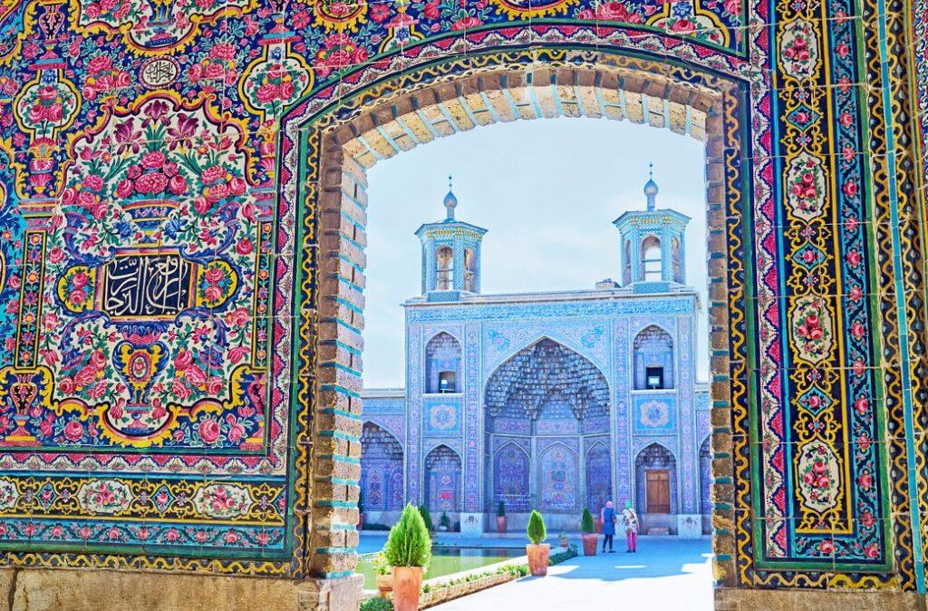 Sziraz-meczet-Nasir-Ol-Molk