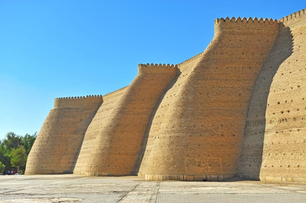 Buchara-forteca-Ark-Uzbekistan
