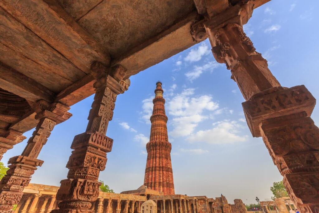 Kutb-Minar-Indie