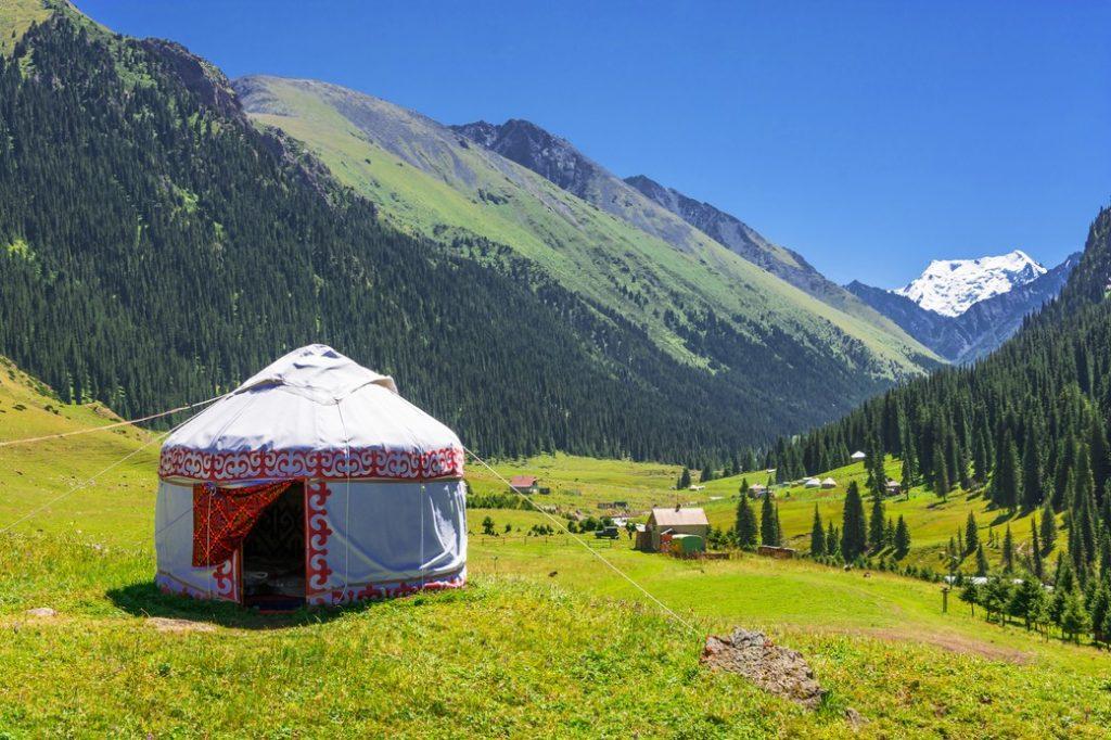 Kirgistan-jurta
