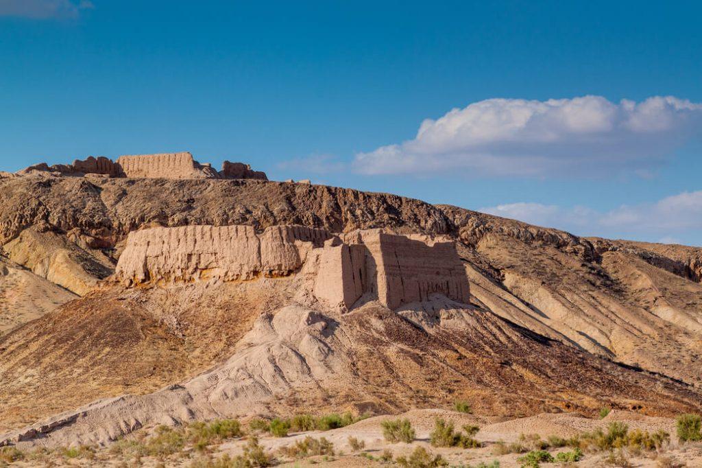 Twierdza-Ayaz-Kala-Uzbekistan