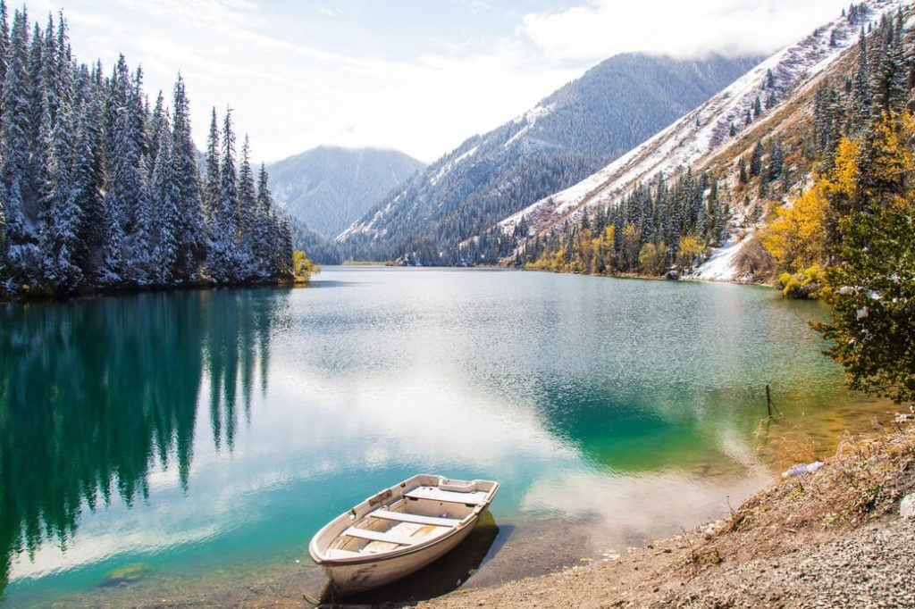 Jeziora-Kolsai-Kazachstan