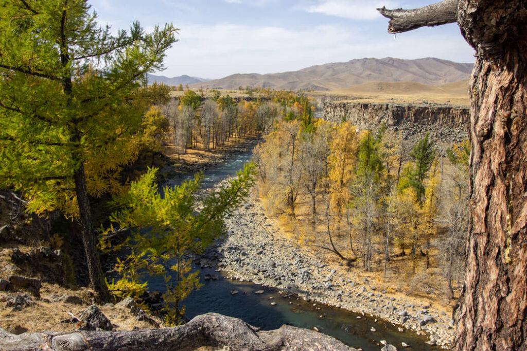 charchorin karakorum mongolia rzeka orchon