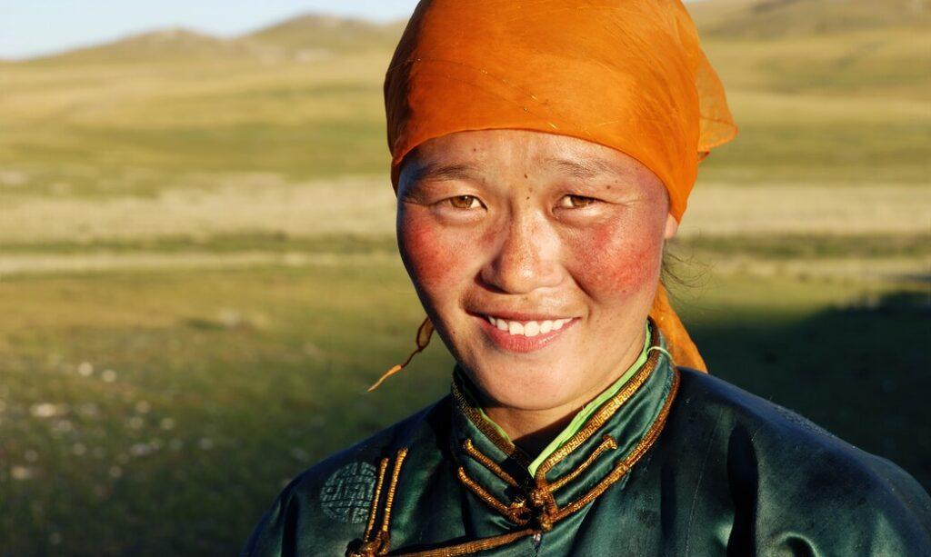 folklor kultura kobieta mongolia