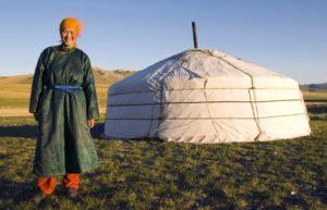 kobieta mongolia