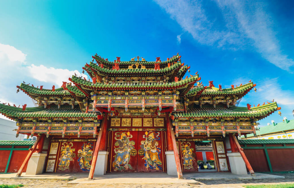 pałac zimowy bogd khan ułan bator mongolia