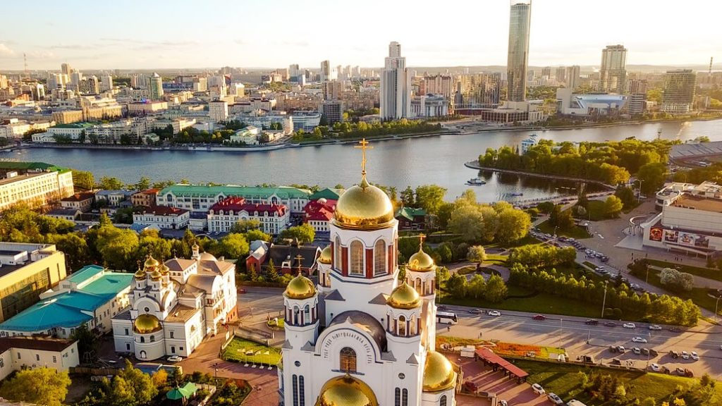 cerkiew na krwi jekaterynburg rosja