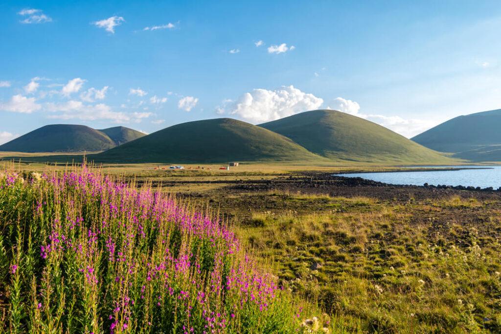 jezioro akna góry gegamskie armenia