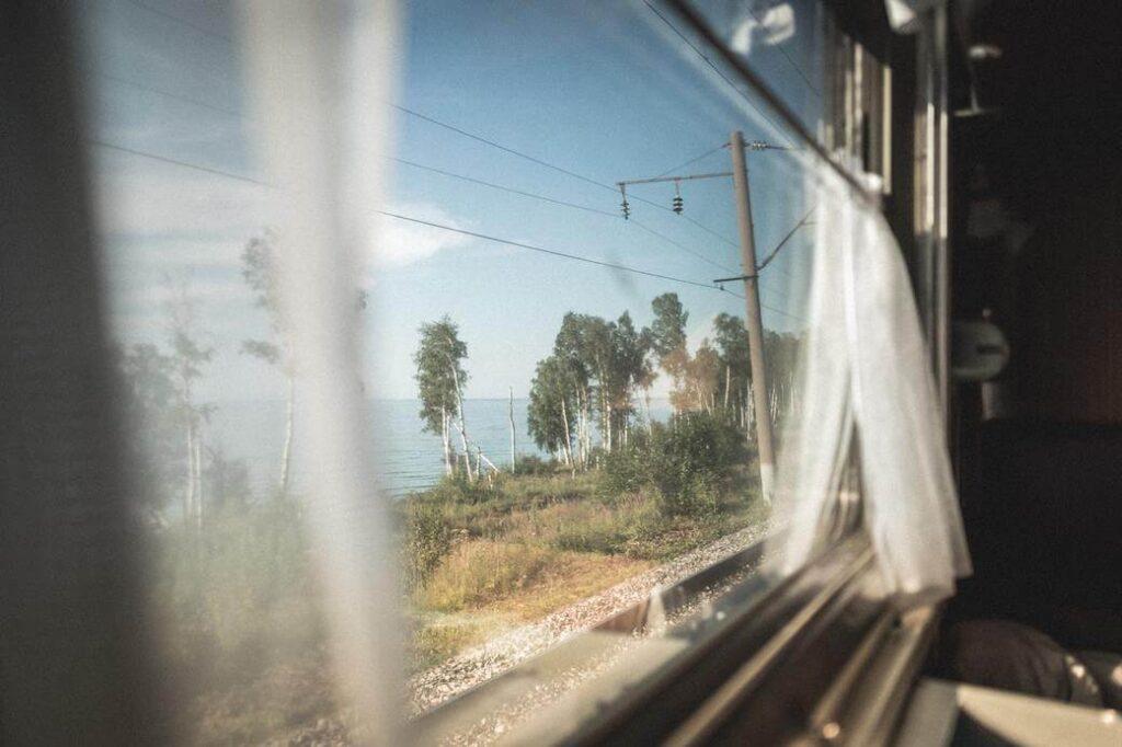 Kolej Transsyberyjska pociąg