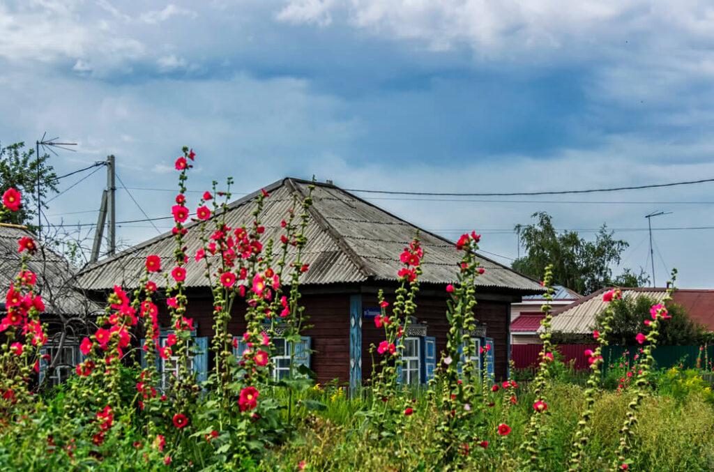 nowosybirsk drewniane domy rosja