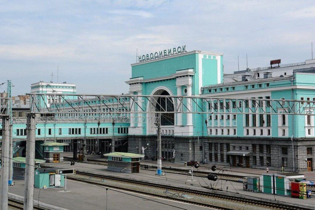 Nowosybirsk stacja kolejowa
