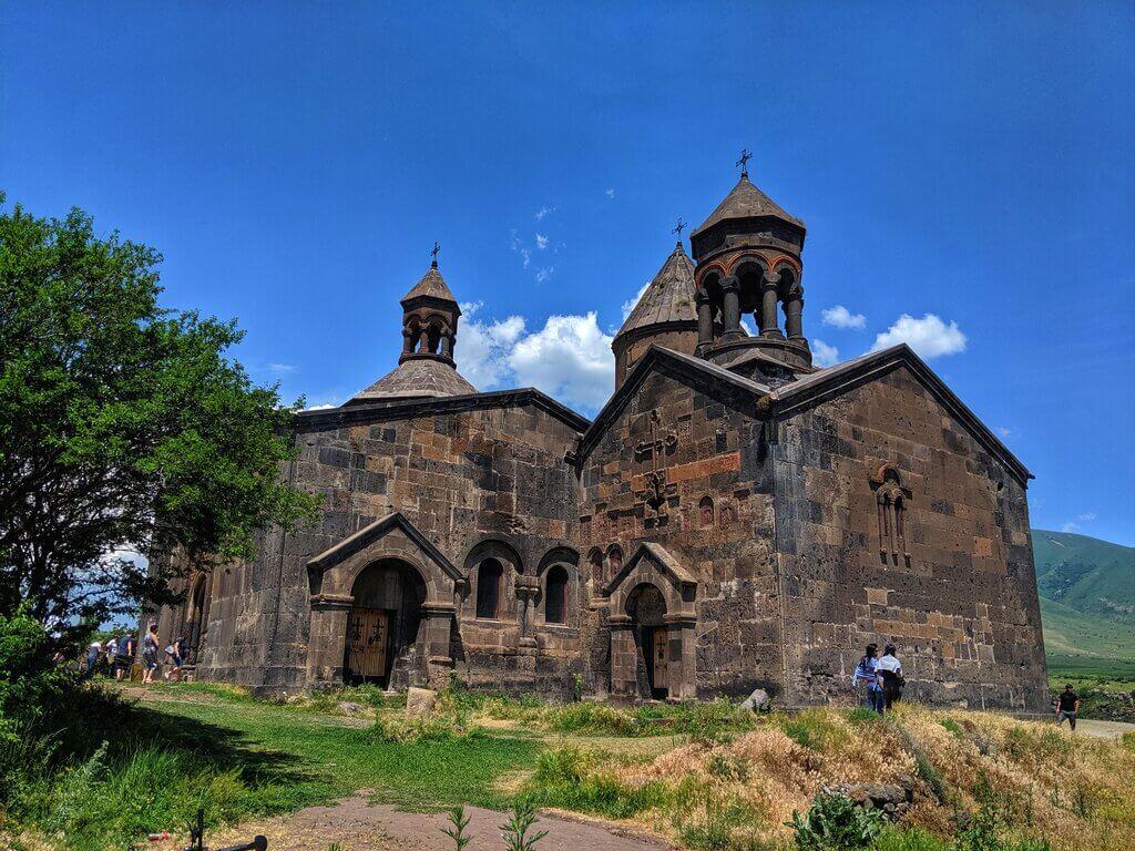 klasztor saghmosavank armenia