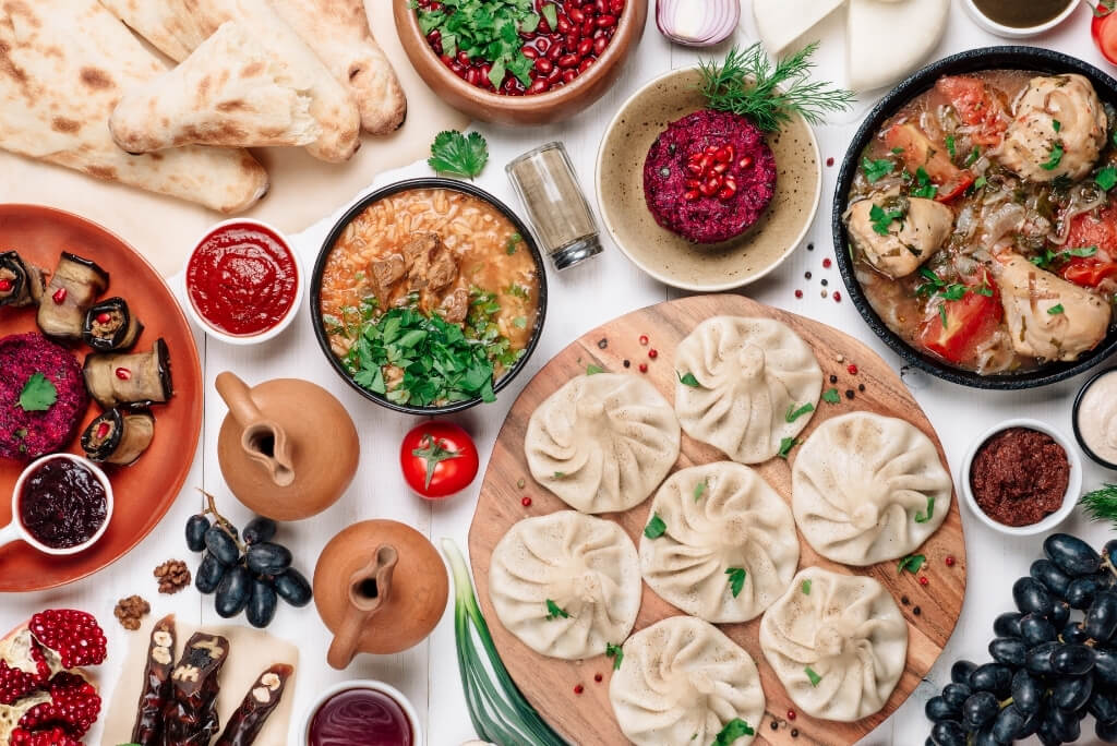 jedzenie gruzińskie